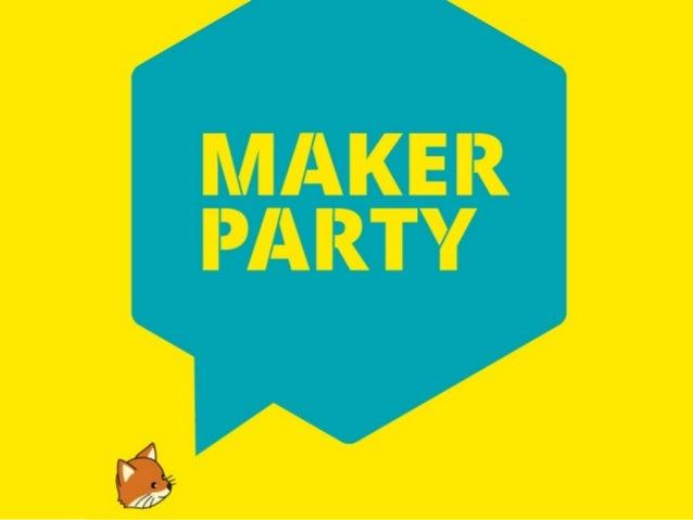 Mozilla Maker Party@まにまにフェスティバルP2