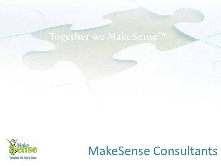 Make Sense  Company  Profile