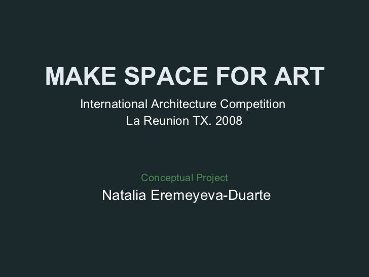 Make Space for Art