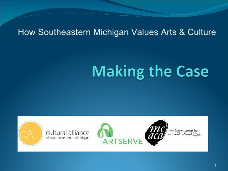 How Southeastern Michigan Values Arts & Culture