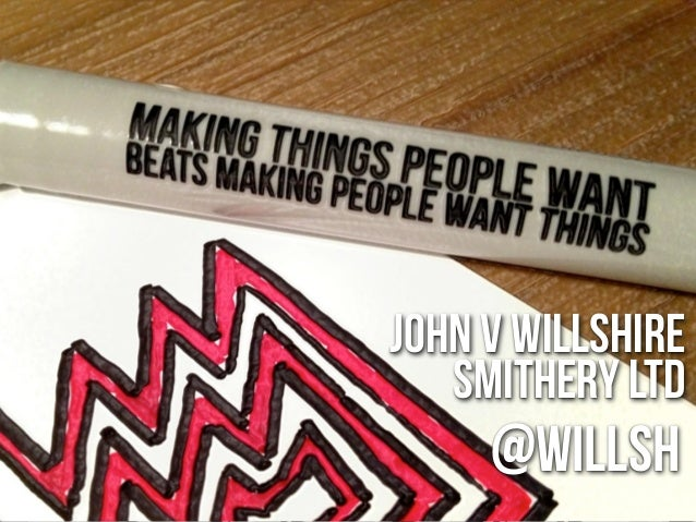 Make Things People Want & The Hollow Factory...