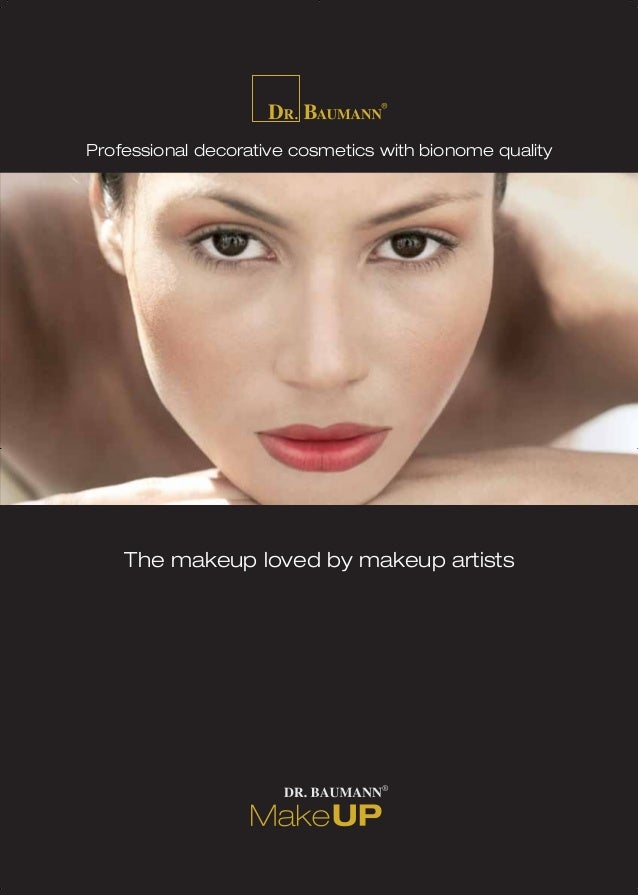 The makeup loved by makeup artists Professional decorative cosmetics with bionome qualityProfessional decorative cosmetics...