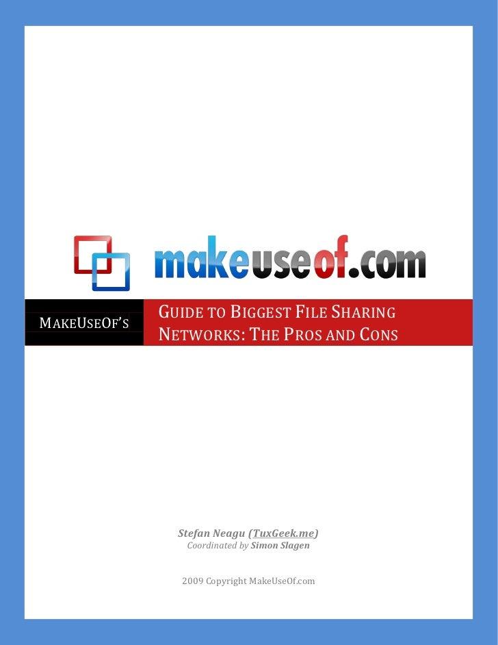 Make useof file-sharing