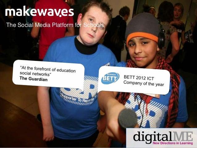 Makewaves & digital me partner introduction