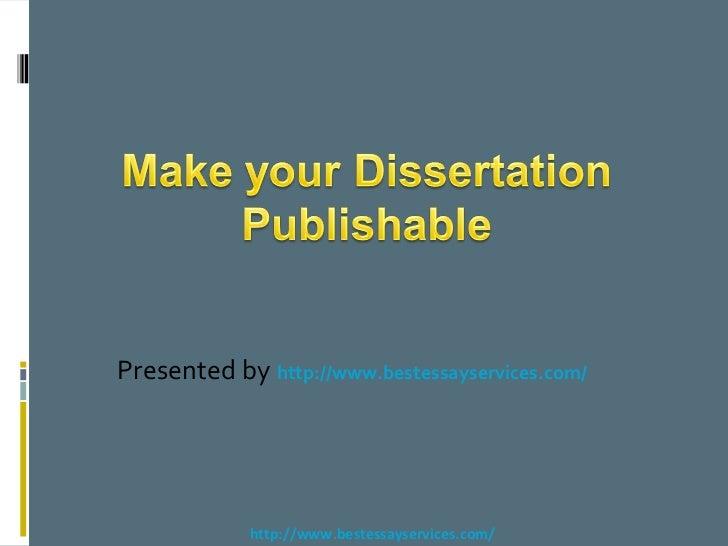Publishable research paper