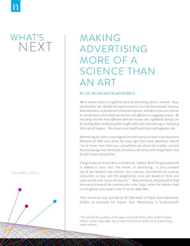 Making Advertising More of a Science Than an Art | Nielsen