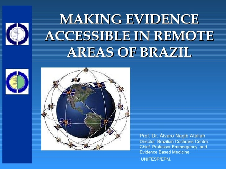 Making evidence accessible in remote areas of Brazil
