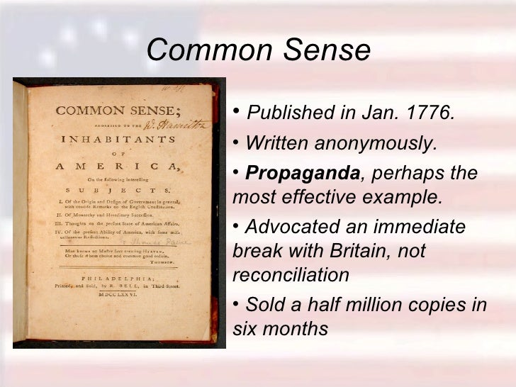 thomas paine common sense essay winners