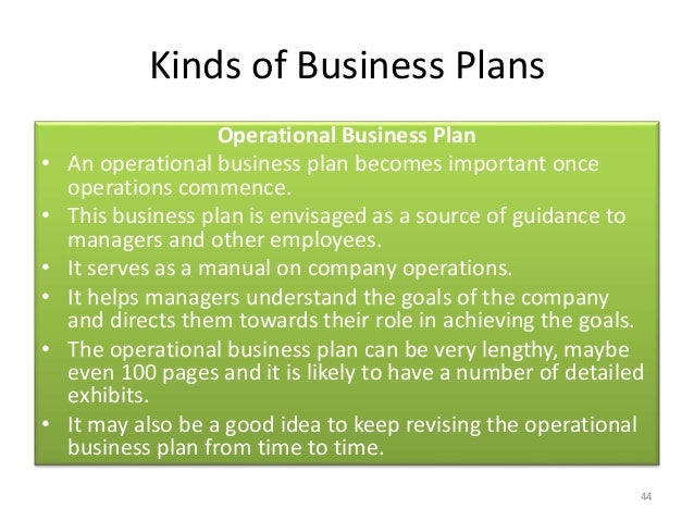 How to make your own business plan