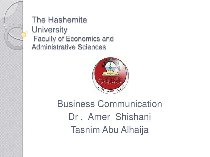 Making A Great First Impression!  By Tasnim Abu Alhaija