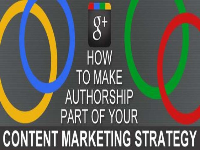 Making Authorship Part of Your Content Marketing Strategy