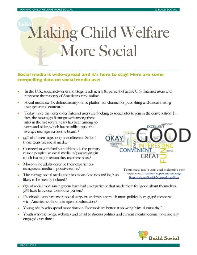 Making Child Welfare More Social - A Resource Guide