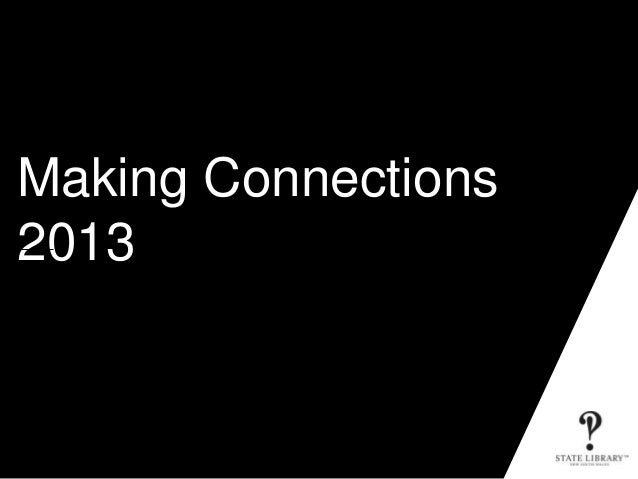 Making connections june 2013 pls