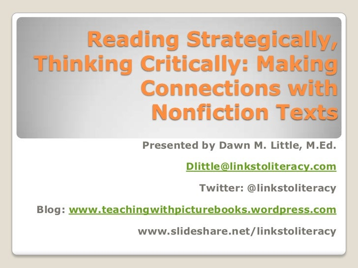 reading passages for critical thinking Teaching critical reading with questioning strategies critical thinking, reading, reading in the content areas, questioning techniques, thinking skills.