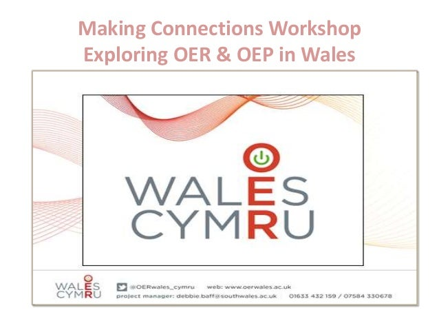 Open Education Practice Workshop  – South Wales