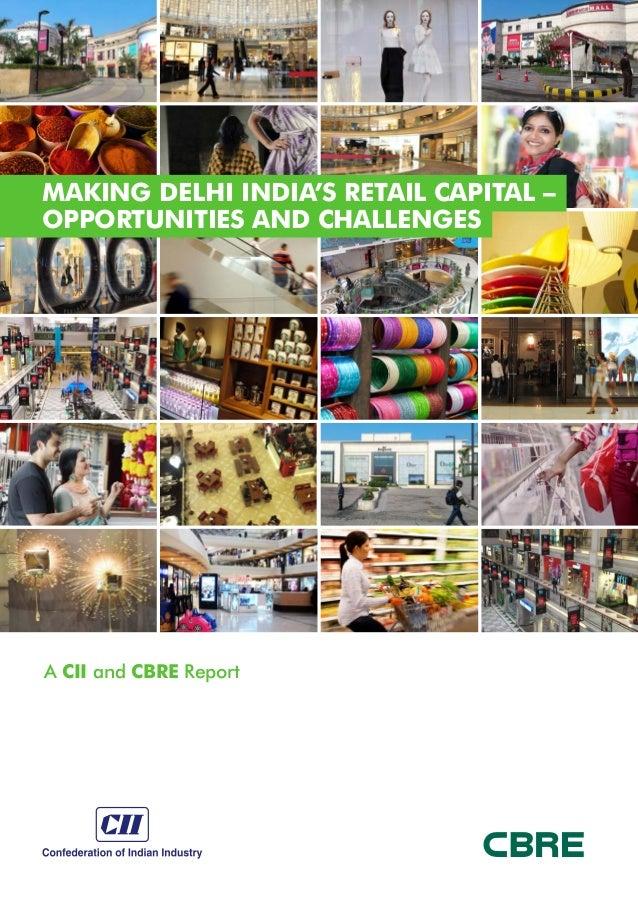 CBRE Report - Making delhi india's retail capital