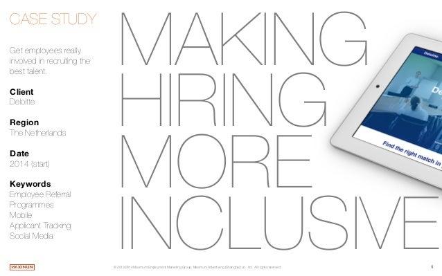 Making Hiring More Inclusive - Deloitte