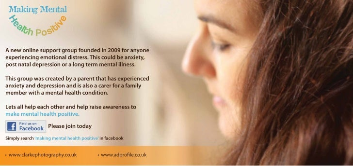 Making mental health positive - 2011 Leaflet