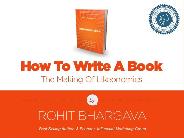 FOR MORE FREE PRESENTATIONS, VISIT WWW.ROHITBHARGAVA.COM @ROHITBHARGAVA  by  Best Selling Author & Founder, Influential Ma...