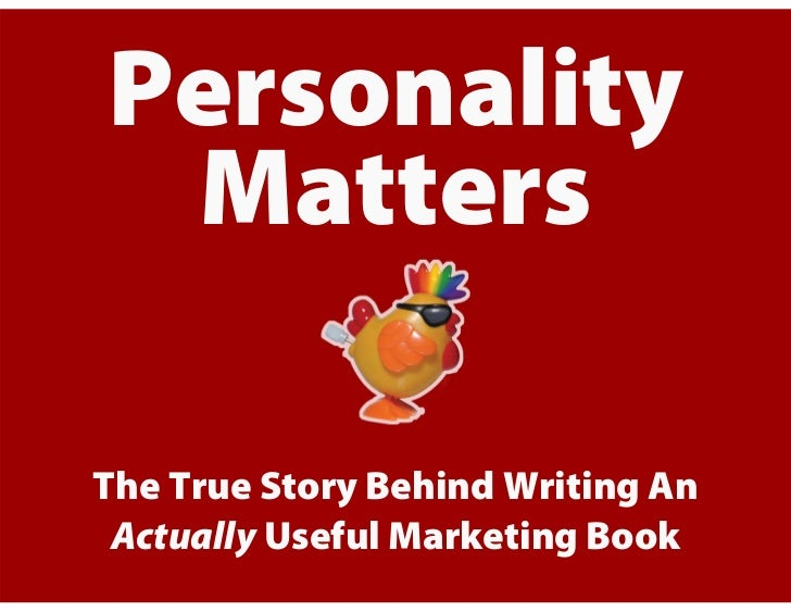 The Making Of Personality Not Included