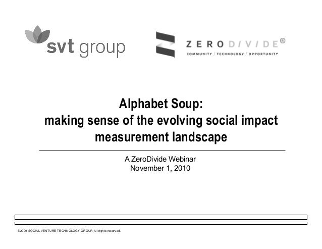 Making Sense of Social Impact Investing