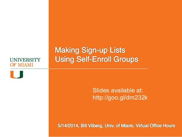 Slides available at: http://goo.gl/dm232k