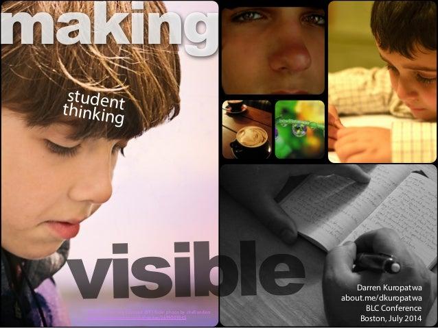 Making Student Thinking Visible v1