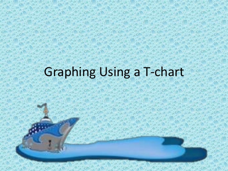 Graphing Using a T-chart<br />