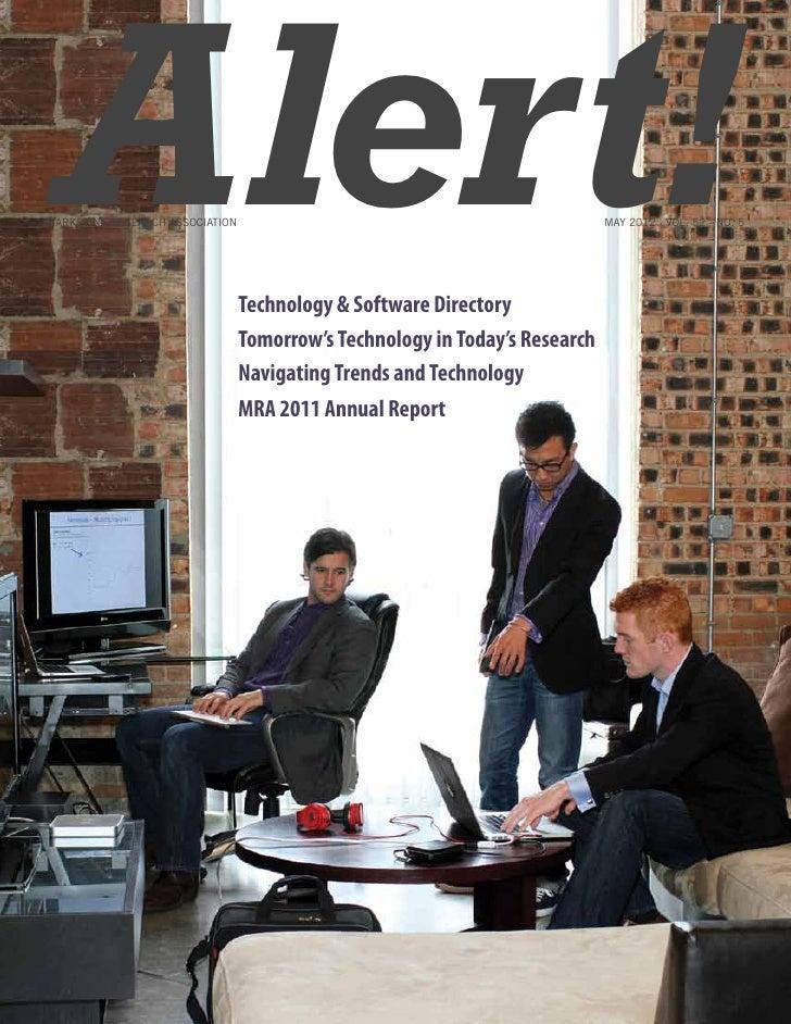 Alert!Marketing Research Association                                 Technology & Software Directory                      ...
