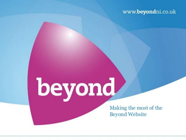 Making the most of the beyond website for your business 111012