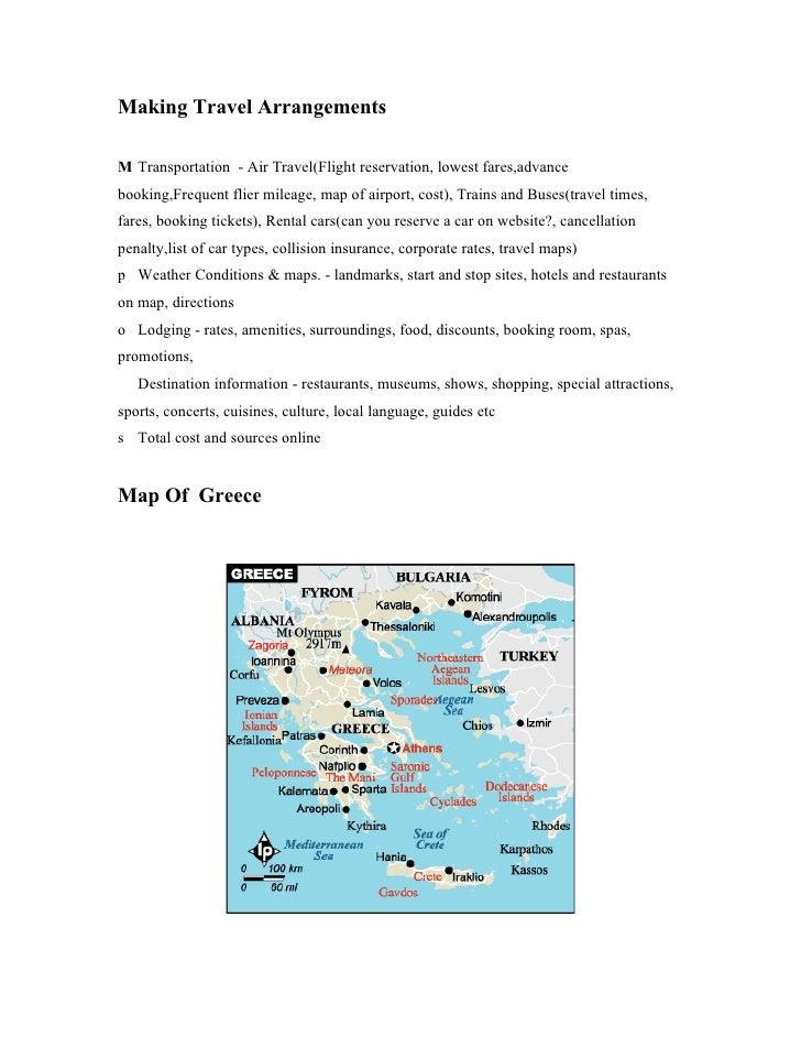 Making Travel Arrangements  M Transportation - Air Travel(Flight reservation, lowest fares,advance booking,Frequent flier ...