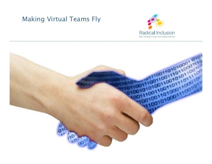 Making Virtual Teams Fly