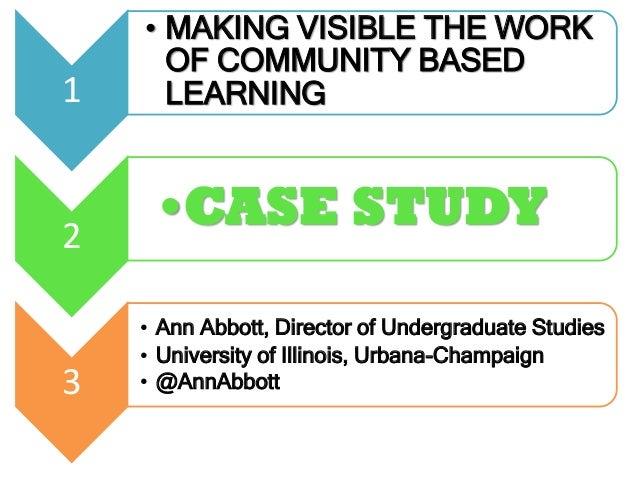 studies community-based adult education