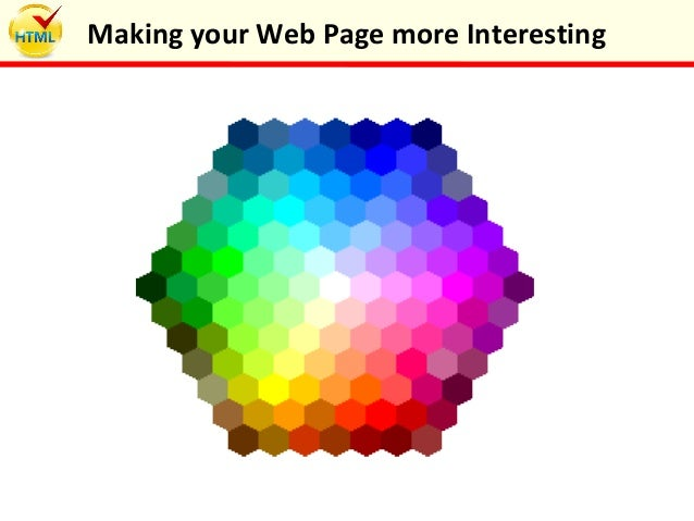 Making your Web Page more Interesting