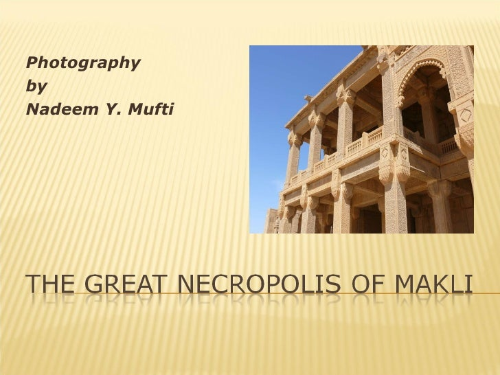 Makli the-city-of-dead