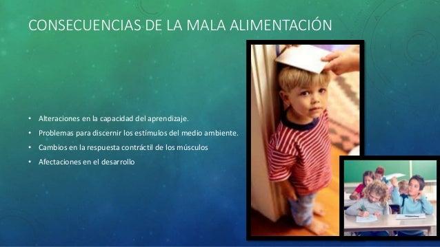 Mala alimentación y aprendizaje infantil