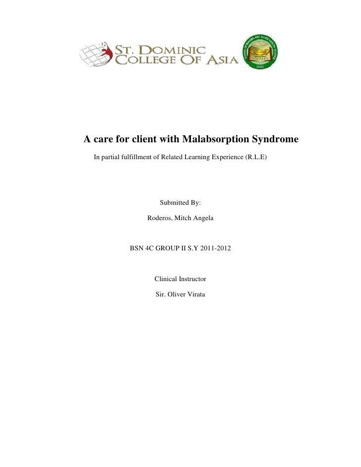 Malabsorptionsyndrome
