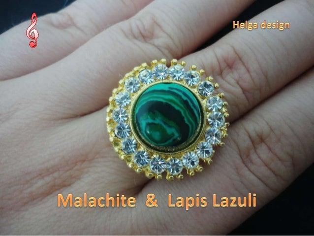 Malachite  &  Lapis Lazuli