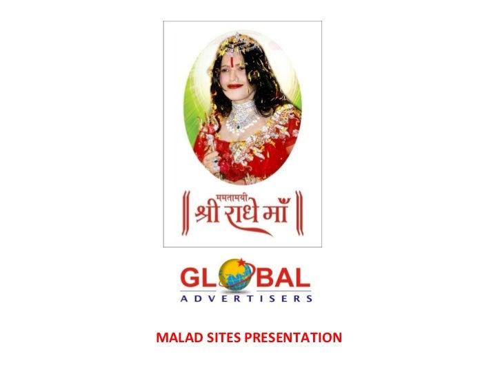 MALAD SITES PRESENTATION