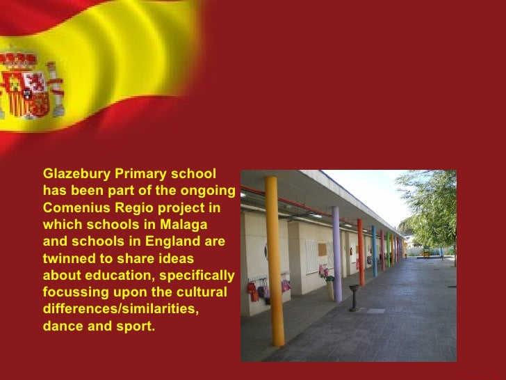 Glazebury Primary schoolhas been part of the ongoingComenius Regio project inwhich schools in Malagaand schools in England...