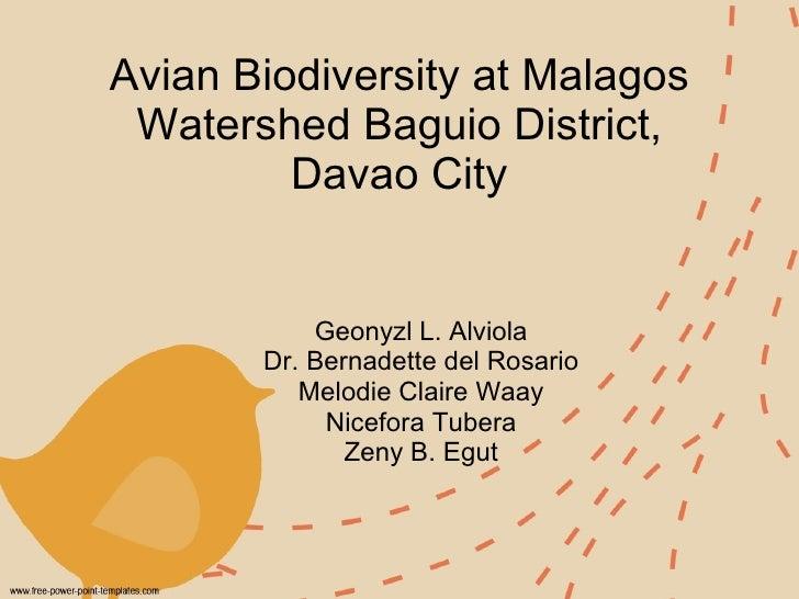 Malagos watershed