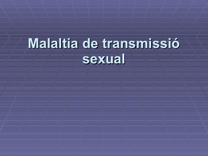 Malaltia de transmissió sexual