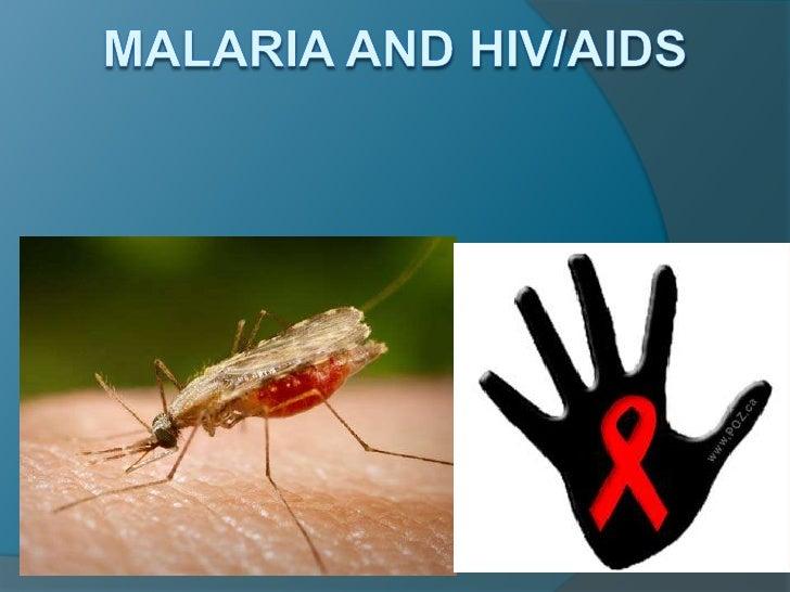 Malaria and hiv