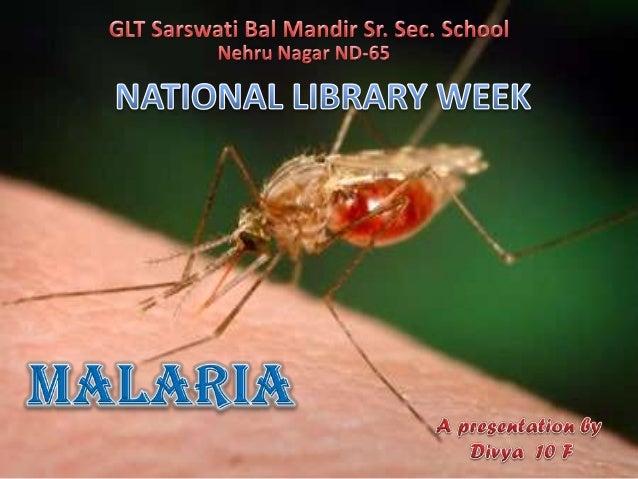 Malaria by divya srivastava