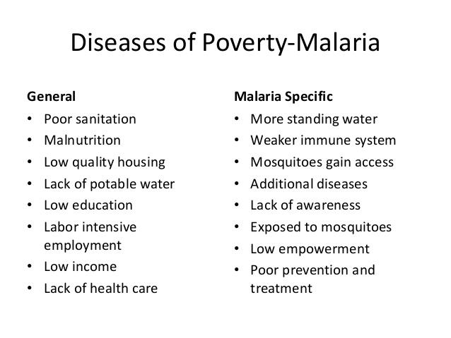 Essay on malaria