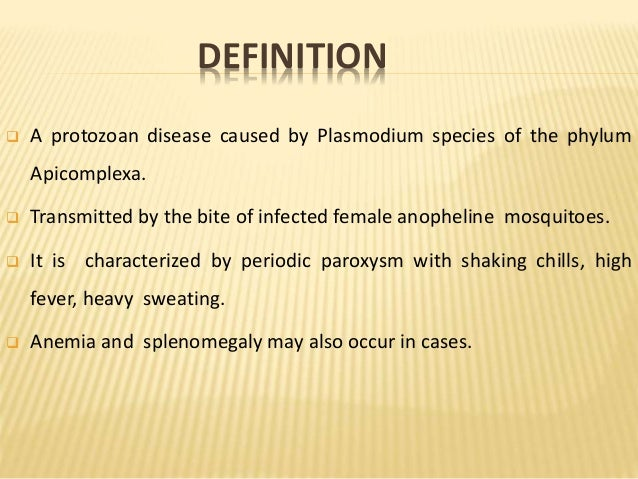 the clinical description of malaria causes symptoms and treatment options Severe malaria may develop even after initial treatment response and complete clearance of parasitemia due to delayed cytokine release neurologic complications cerebral malaria is the most.