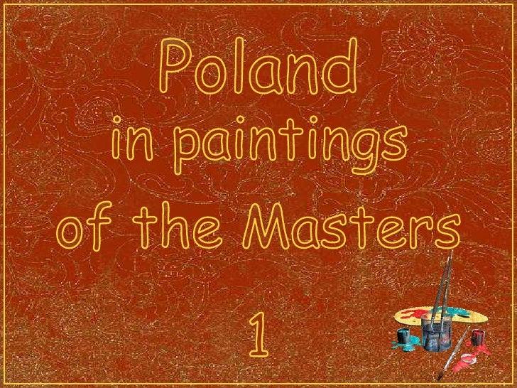 Malarstwo polskie (1)