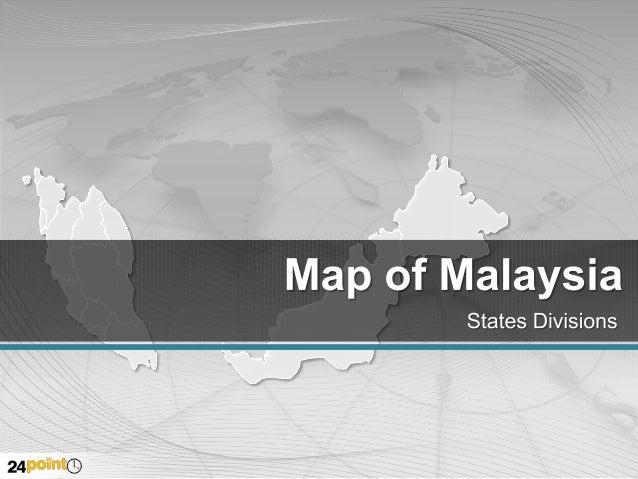 Malaysia - Editable PPT Map