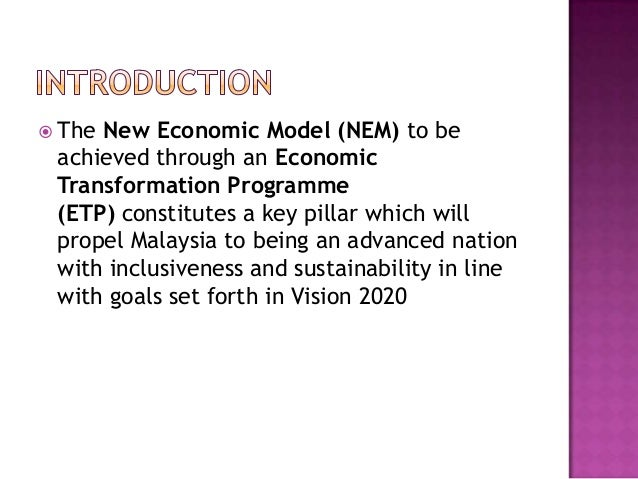 new economic model for malaysia Exceptional since then, the pendulum has swung to a search for models from   for malaysian experience with the new economic policy to contribute.