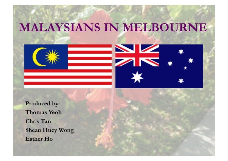 Malaysians in melbourne